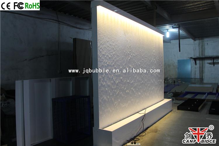 spa club interiores decoracin interior pared cascada moderno fuentes de agua