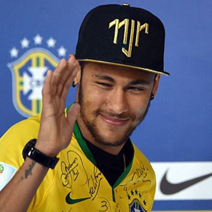 Neymar Da Silva Santos Junior: Free Shipping Neymar Da Silva Santos Junior JR Njr Brazil