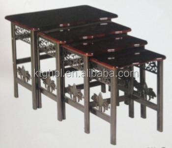 Modern design uk wood top iron legs nest coffee table buy wood top modern design uk wood top iron legs nest coffee table watchthetrailerfo