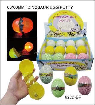 Dinosaur Egg Puttylight Up Bouncing Putty Buy Dinosaur Egg Putty