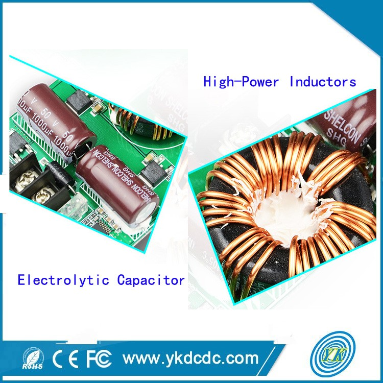 Bare board step up dc dc converter 8-40v to 5v power supply