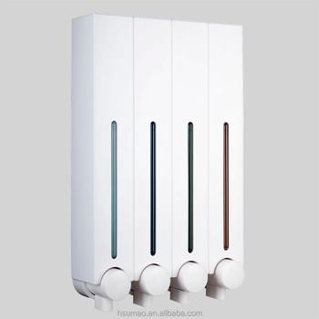 Wall Mount Shower Soap Dispenser For Hand Sanitizer
