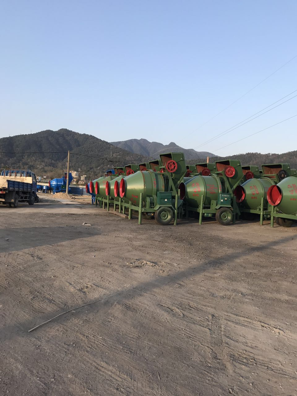 self loading reversing drum jzc jzr 350 electric concrete mixer machine with lift price