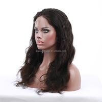 2015 Best Sell Virgin Hair Mongolian Silky Straight Human Hair Wig