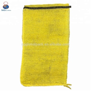 PP leno small cheap potato mesh net bag wholesale