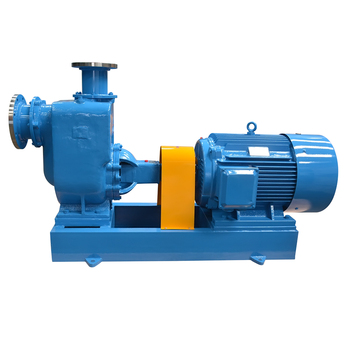 self priming electric centrifugal sand pump to suck mud and sand
