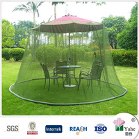 Pavilion umbrella table screen mosquito net