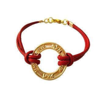 Gold Kabbalah And Judaica Sacred Names Charm Red Cord Bracelet - Buy Charm  Bracelet Product on Alibaba com
