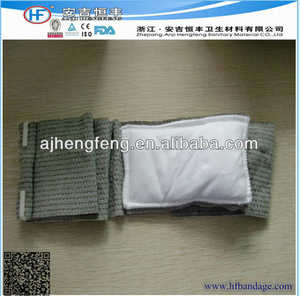 Emergency first aid soldier trauma dressing military hemostasis sterile bandage