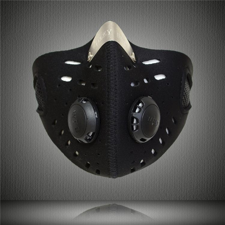 Горячая распродажа! Спорт на открытом воздухе маска фильтр воздуха - анти-загрязнение для езды на велосипеде путешествия пыле рот - рот-муфельные YT0010 / K