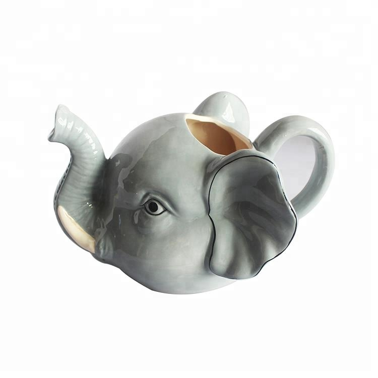 custom elephant animal creative tea ceramic cups