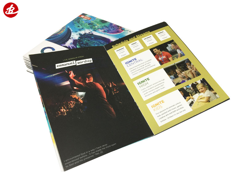 Custom Color Printed Magazine Service,Brochure Printing,Offset Printing Book