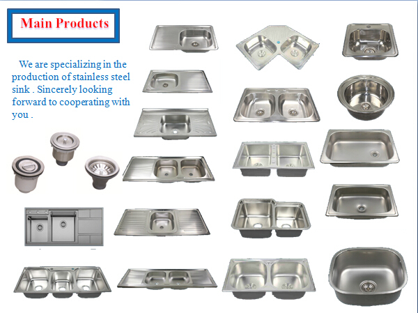 cheap philippines 14 20 single bowl stainless steel kitchen sink - Kitchen Sinks Cheap Prices