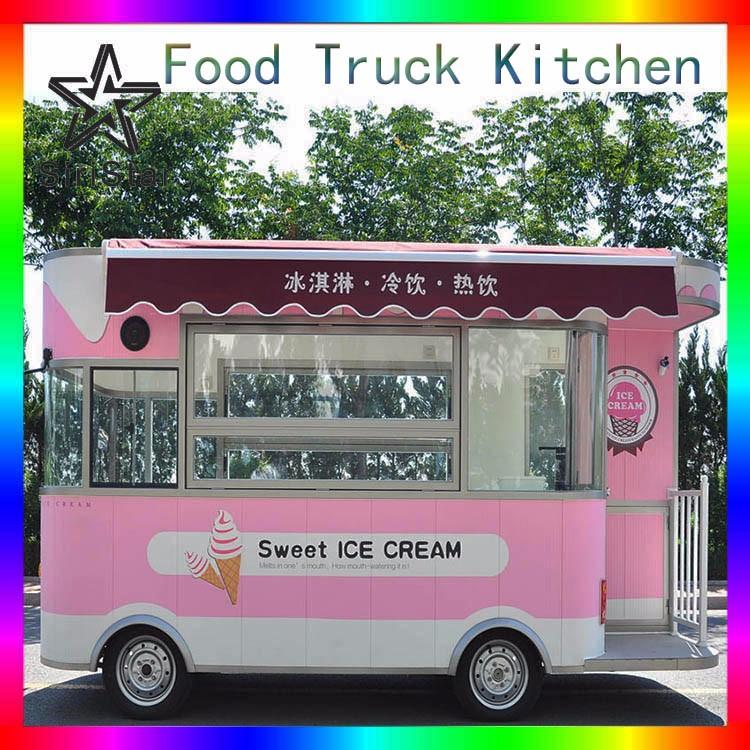 2016 Hot Sales Best Quality European Standard Food Truck Australia Show Room Uranus SRJJIC