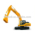 34T China brand SW new excavator with big bucket SW6365H