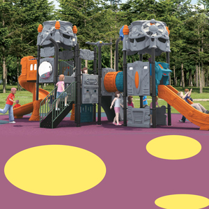 Hot sale large outdoor slide plastic slides prices for amusement park equipment