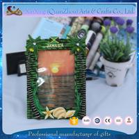 Jamaica tourist new design handmade resin photo frame