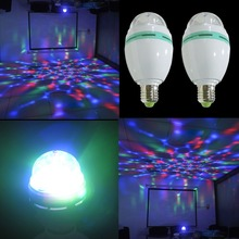 Export to Germany UK RGB colorful rotating room decoration 3W led party stage light,RGB stage lightdisco led light