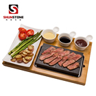 Cheap Steak Stone And Plate Set Of 7,Steak Stones Cooking Hot Rock Grill Plate,Lava Cooking Stones