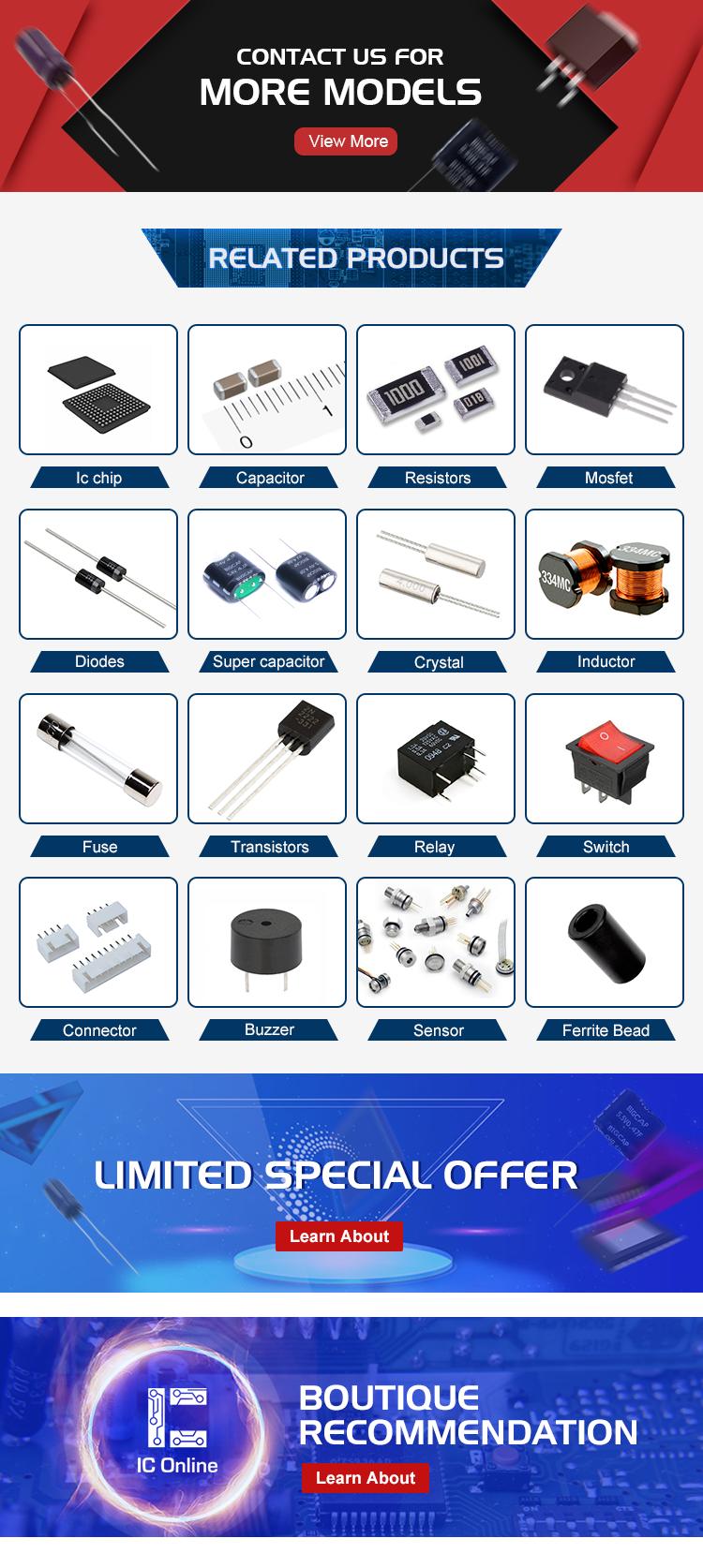 Komponen Aktif 13001 IC Power SMD Transistor Menandai