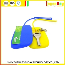 New Arrival silicone key bag