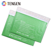 High Quality Green Customized Kraft Paper Bubble Mailers