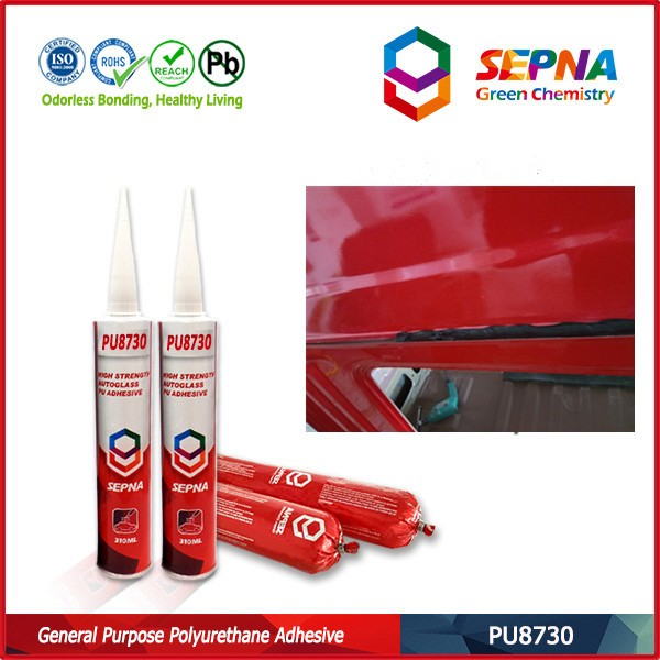 high <strong>adhesive</strong> all car windscreen glass repair pu sealant low volatile