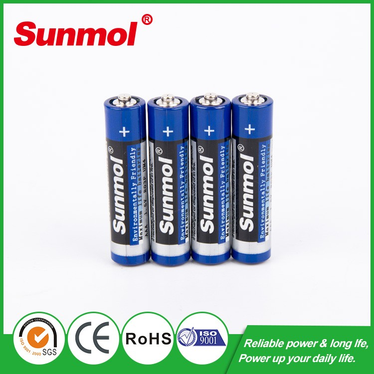 1.5v r6 aa battery carbon zinc aa batteries for Radio Toy Portable lighting alarm clock