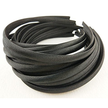 Wholesale Hair Accessories Black DIY Ribbon Plain Hairband