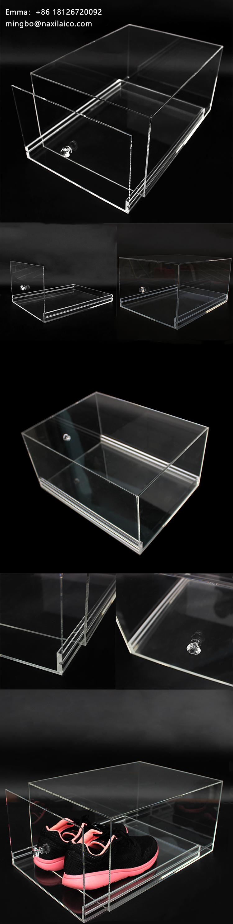 Transparent Glass Sneaker Box Acrylic Clear Case With Logo Transparent Box for Acrylic Shoe Display Case.jpg