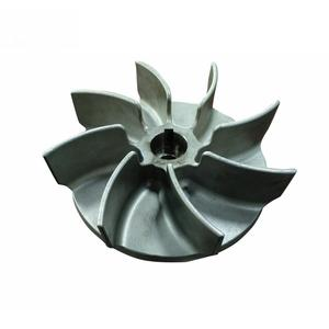 brass aluminum sand cast or precision investment casting stainless steel pump impeller