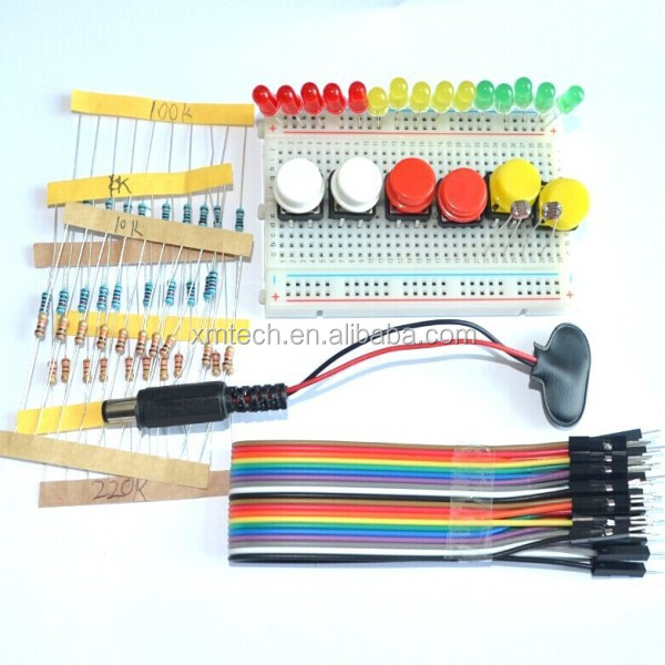 New Starter Kit UNO R3 mini 브레드 LED jumper 선 button 대 한 Arduino