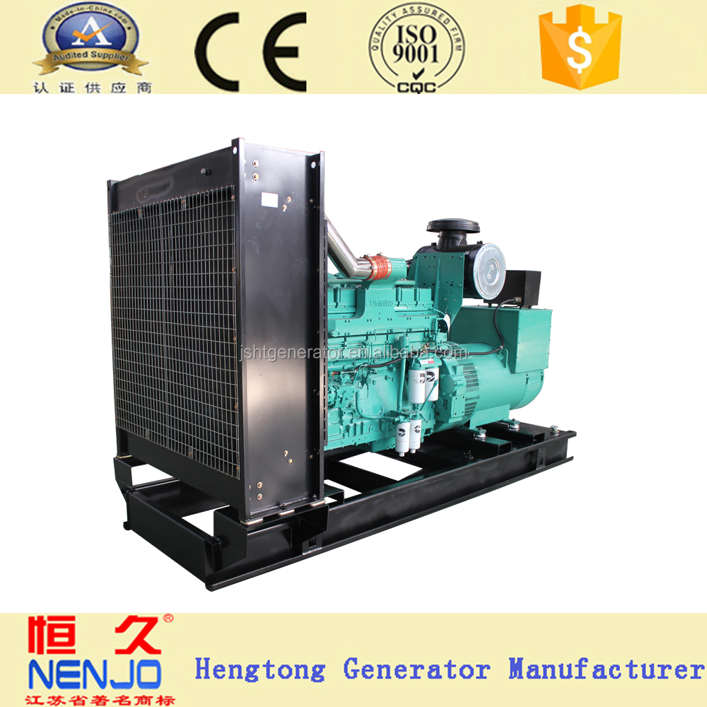CCEC brand NT855-GA engine 250KVA/200KW electricity generators diesel gensets with ce certifications( 18KW~1500KW)