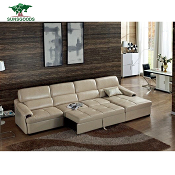 Delicieux Factory Supply Extra Long Leather Sofa,European Leather Sofa Sale