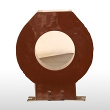 Epoxy resin casting zero sequence current transformer