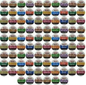 96-Count Beantown Roasters Variety Pack Sampler of 12 Assorted Roasted Coffees, single-cup coffee pack sampler for Keurig K-Cup Brewers