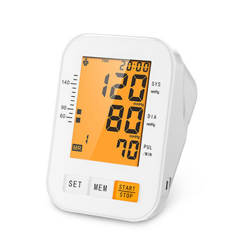 CE approved digital arm bp Blood Pressure Monitor meter sphygmomanometer cuff tensiometro