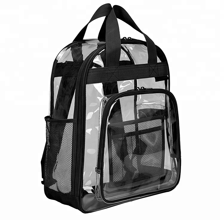 239f477bc602 Transparent Plastic Backpacks