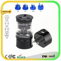 Travel converter and adapter kit