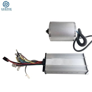 Electric Bicycle Brushless Motor 72V3000W 50A Brushless Controller Kit For Electric Scooter Folding Bike Engine Motorcycle