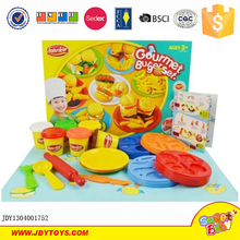 New product wholesale kids hamburger color play dough