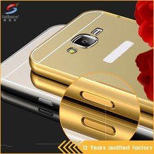 Latest design anti-scratch chrome case cover for galaxy j7
