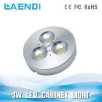 3W LED Puck Light Complete Kit for Under Cabinet