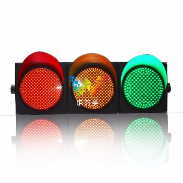 High Technology Road safety PC housing RYG 400mm traffic light
