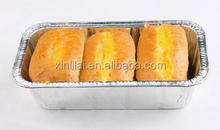 Disposable food aluminium container/food storage aluminium containers with lid