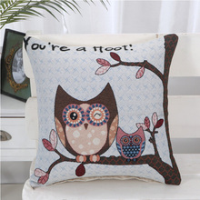 2018 High Quality Little owl Stadium Seat Back Office Seat Cushion