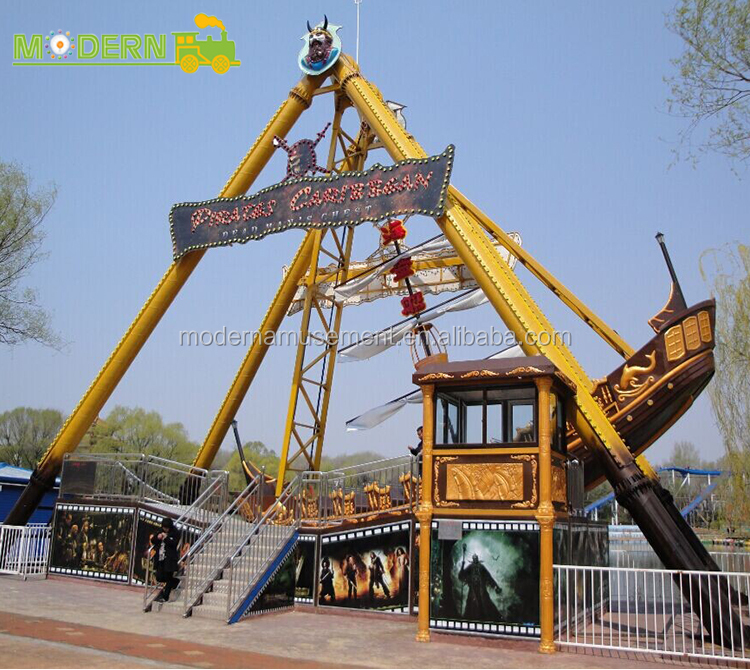 entertainment machines thrill ride pirate ship for sale