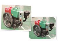 Complete 7hp single cylinder 4 stroke diesel engine R175 for sale