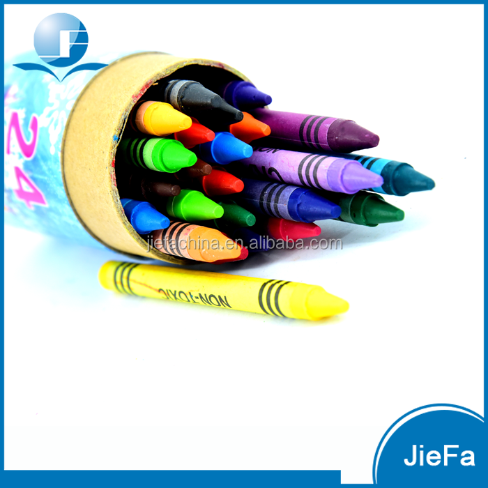 Mini Children Stationery Set Painting With Crayons