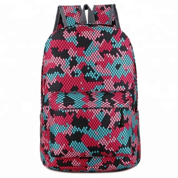 Cute Mesh School Printing Backpacks For Teenage Girls Buy